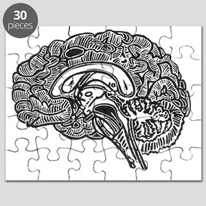 Science Geek Brain Puzzle